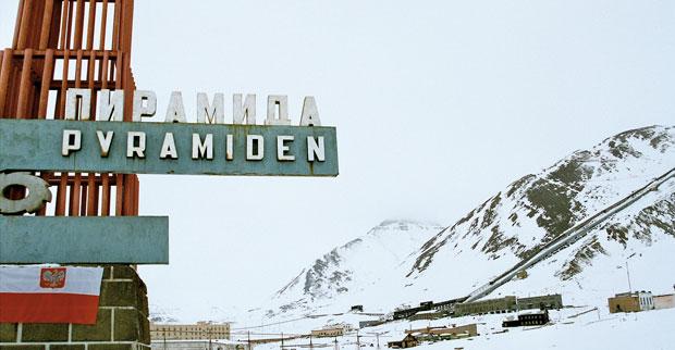 Podróże: wyprawa na Spitsbergen, podróże, europa, Pyramiden - rosyjskie miasto opuszczonego przez mieszkańców w 1997 roku