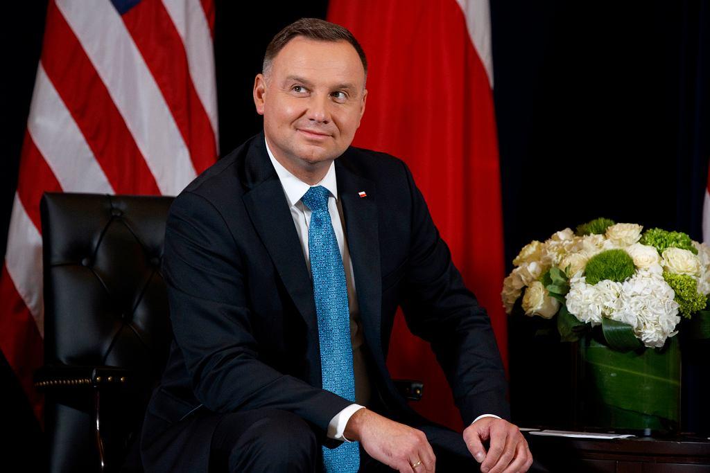Trump US Poland