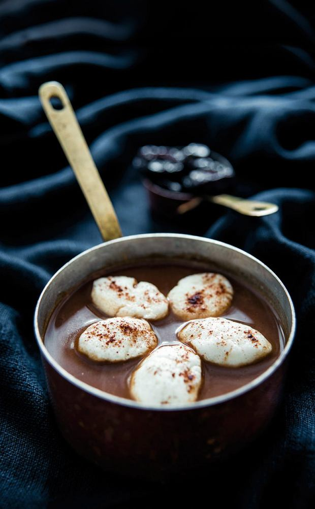 Wigilijna zupa z suszonych śliwek
