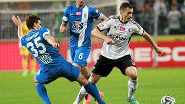 Legia Warszawa - Lech Poznań 2:2. Łukasz Trałka i Marcin Kamiński kontra Tomasz Jodłowiec