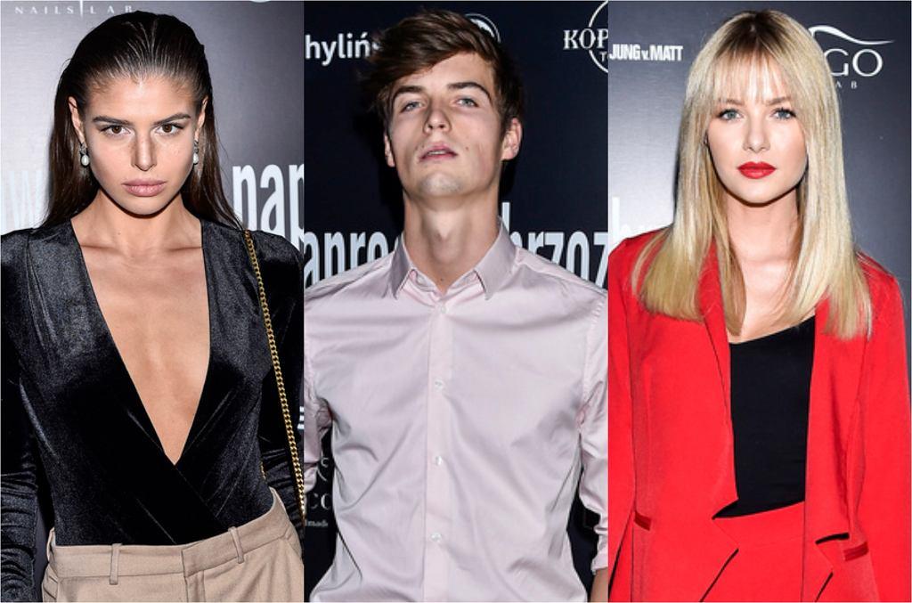 Finaliści 'Top Model' na ściance