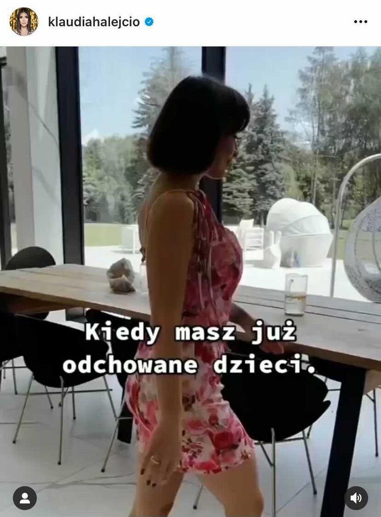 Wideo Klaudii Halejcio