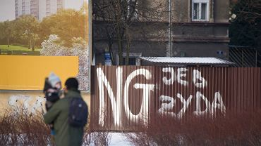 Antysemickie hasła w Krakowie