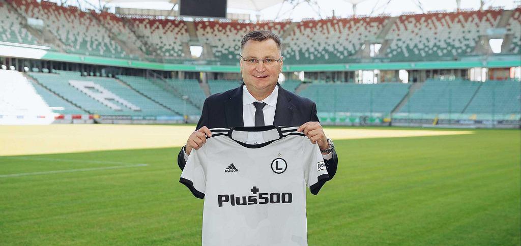 Czesław Michniewicz trenerem Legii