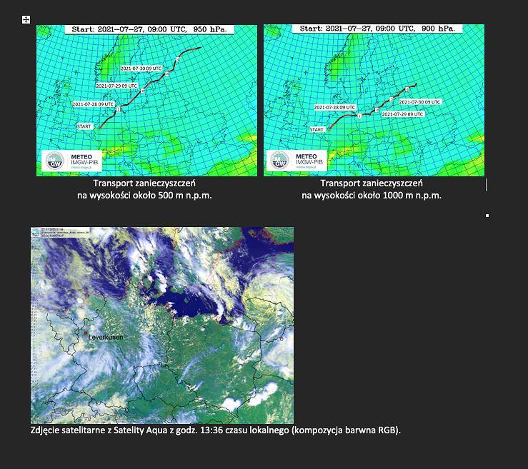 Aktualizacja: Wybuch w Niemczech, IMGW-PIB monitoruje skażenie atmosfery