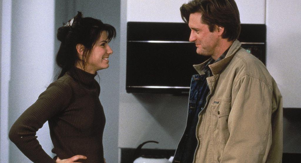 Sandra Bullock i Bill Pullman w 'Ja cię kocham, a Ty śpisz'