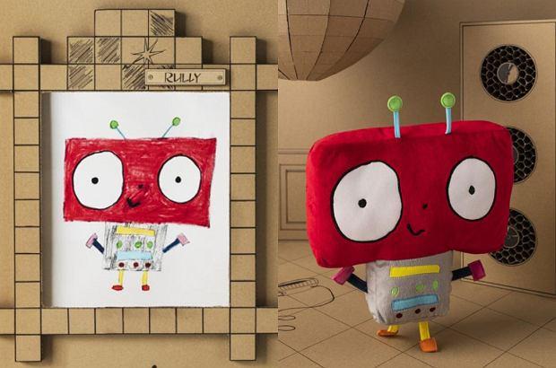 Ikea. Kolekcja Sagoskatt. Robot