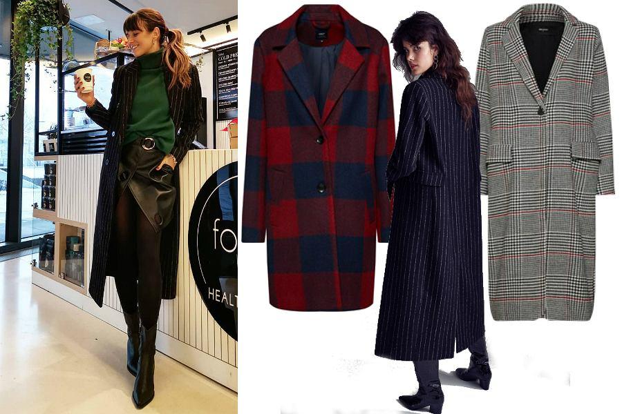 Płaszcz na zimę - wzory