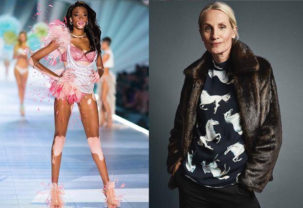 Winnie Harlow to modelka z bielactwem, która wystąpiła w pokazie Victoria's Secret 2018. Marka Kapp Ahl zaprosiła do współpracy dojrzałe kobiety