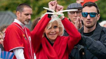 Jane Fonda zatrzymana
