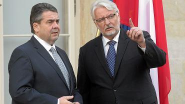 Spotkanie ministrów spraw zagranicznych Polski i Niemiec. Warszawa, 08.03.2017