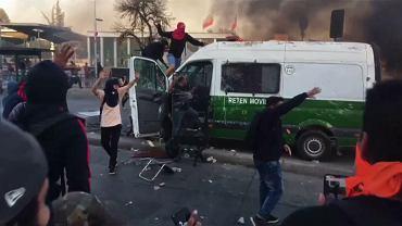 Zamieszki w Santiago