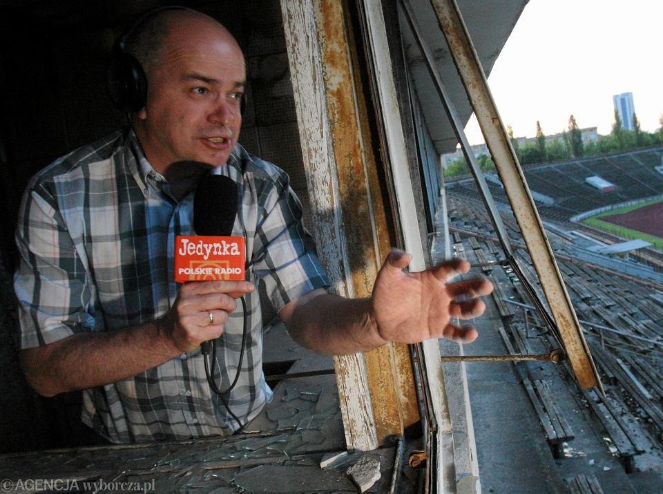 Tomasz Zimoch na stadionie Skry