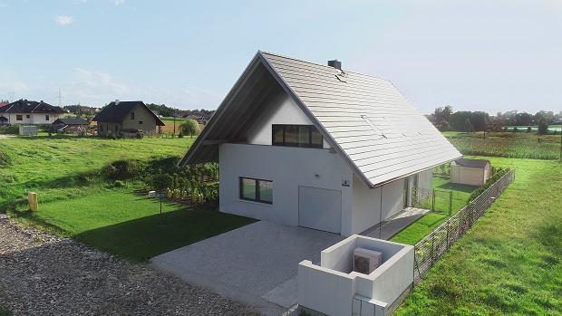 Trwająca budowa 'Domu Optymalnego'