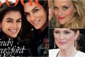 Cindy Crawford z córką, Reese Witherspoon, Julianne Moore