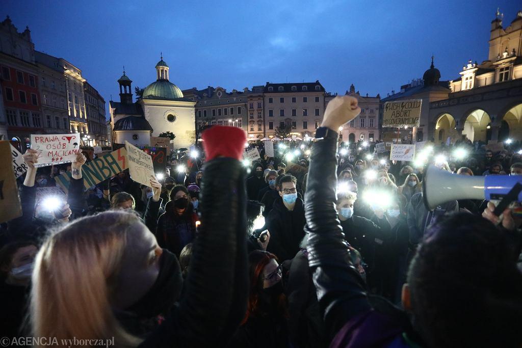 Bolesławiec. Przerwali wesele, aby wziąć udział w strajku kobiet