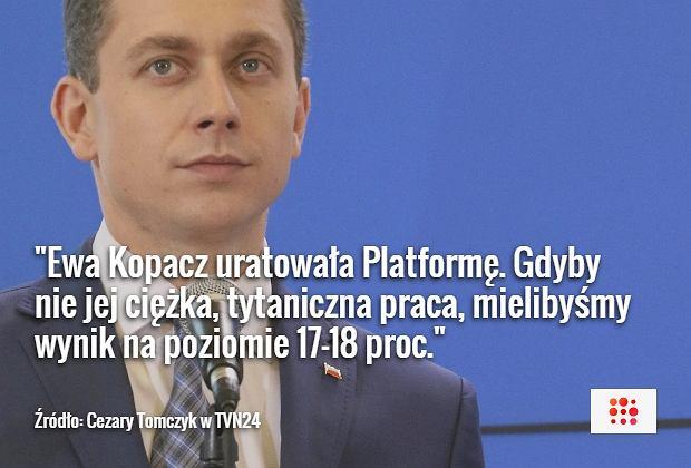 Cezary Tomczyk w TVN24