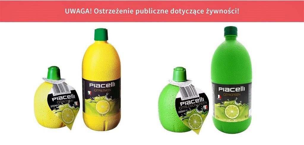 Wskazanych w komunikacie partii produktów nie powinny spożywać osoby uczulone na dwutlenek siarki i siarczyny.