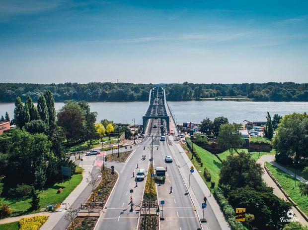 Zdjęcie numer 8 w galerii - Modernizacja mostu im. Piłsudskiego za 123 mln zł. Tak wygląda z drona