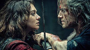 Emma Appleton i Henry Cavill jako Renfri i Geralt w serialu 'Wiedźmin'. Wbrew pozorom całkiem się polubili