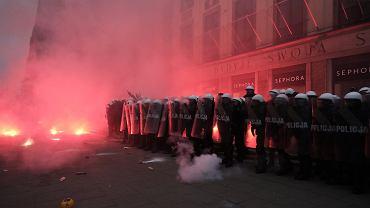 KSP o użyciu broni podczas Marszu: Powodem brutalna agresja uczestników