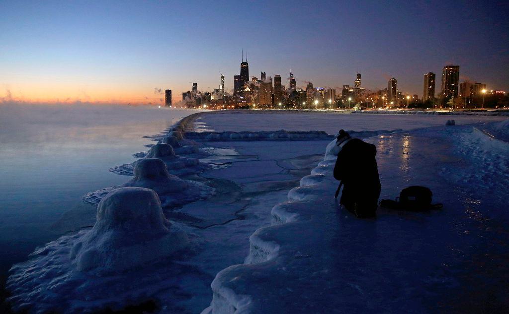 Atak zimy w Chicago