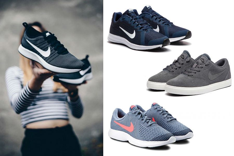Kolaż / Buty Nike / Materiały partnera