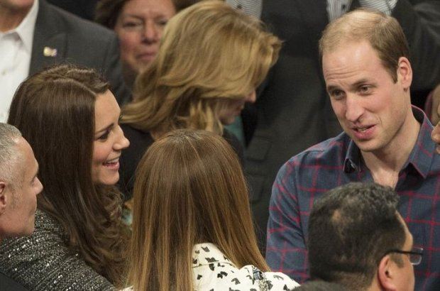 Kate Middleton, Beyonce, książę William