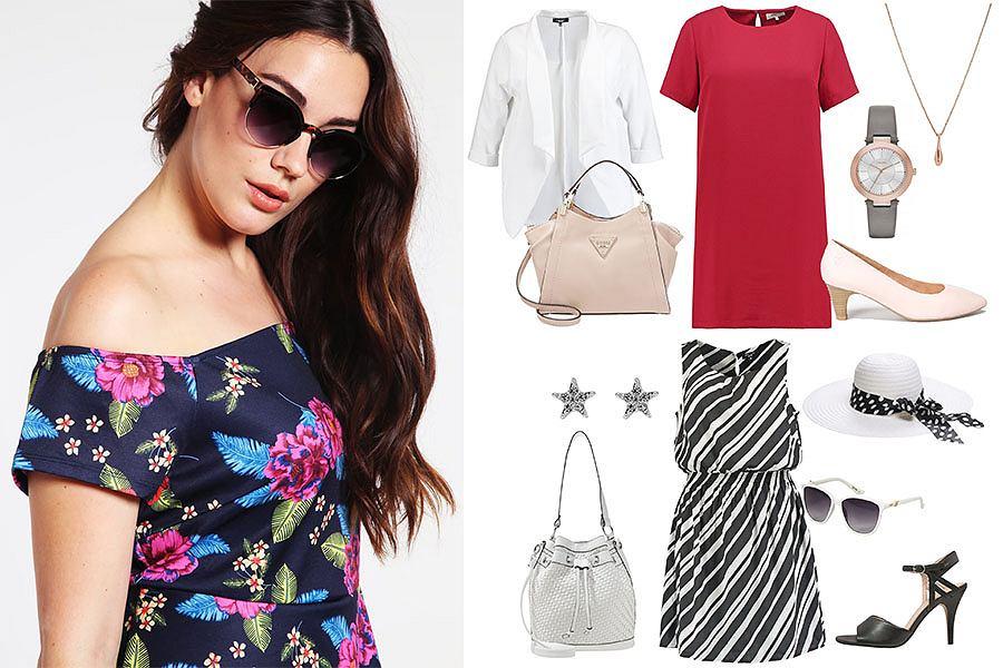 c4edf28747de3d Sukienki dla puszystych do 100 zł - modne i niedrogie stylizacje na lato