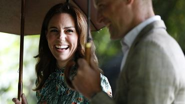 Książe William i Księżna Kate Middleton w Kensington, 30.08.2017