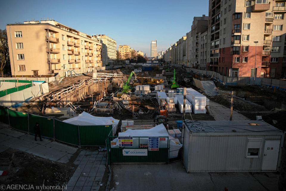 Budowa drugiej linii metra, ul. Górczewska