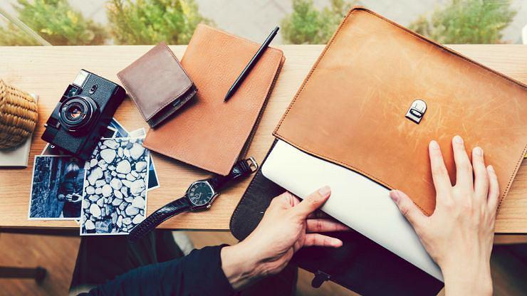 Skórzane torby na laptopa elegancja i funkcjonalność w jednym