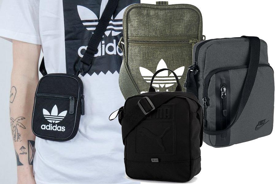 Sportowe torby na ramię męskie