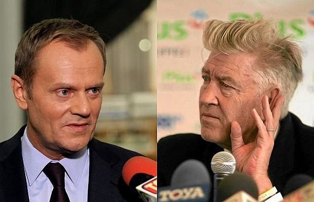Donald Tusk, David Lynch