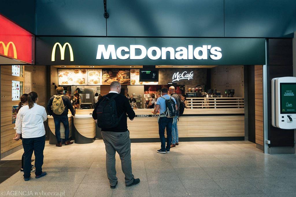 McDonald na gdańskim lotnisku już otwarty.
