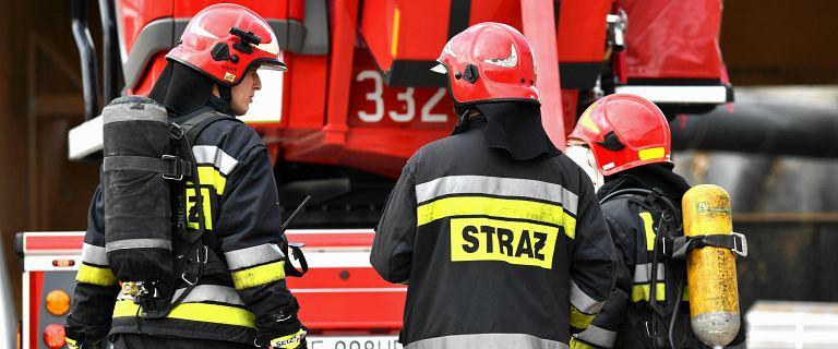 Rozszczelnienie gazu w centrum Warszawy. Na miejsce wysłano 6 zastępów straży