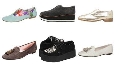 Loafery, creepersy, oksfordki - ciekawe modele butów