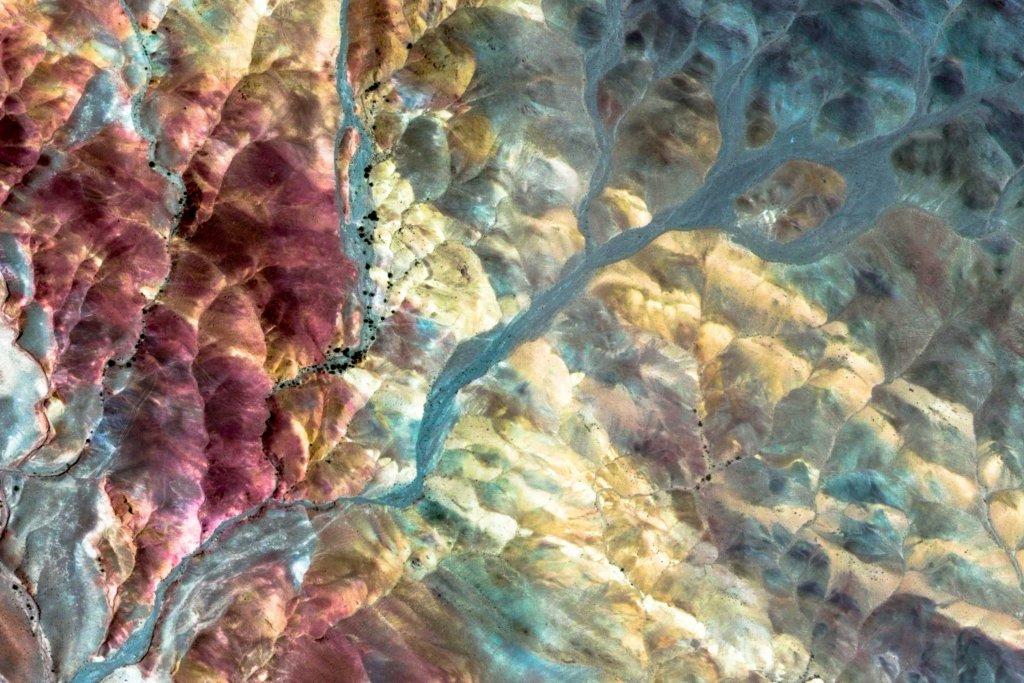 Birjand, Iran. Zdjęcie dostępne w Google Earth.