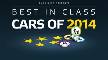Euro NCAP's Best in Class Cars of 2014