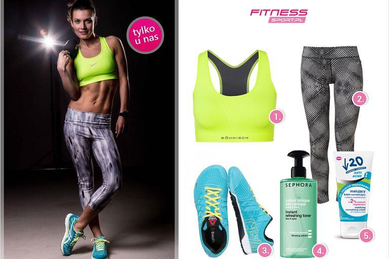 katarzyna kępka strój na fitness