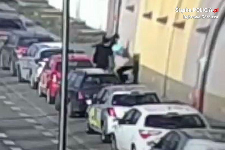 Policja w Dąbrowie Górniczej poszukuje sprawcy napadu. Jest nagroda