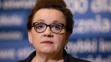 ;Apel w Warszawie Minister Edukacji Narodowej do nauczycieli