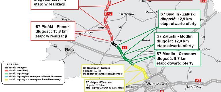 """Krajowa """"siódemka"""" coraz bliżej. Kiedy Gdańsk połączy się z Warszawą?"""
