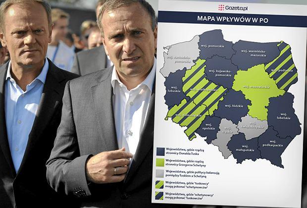 Wybory 'baronów' w PO