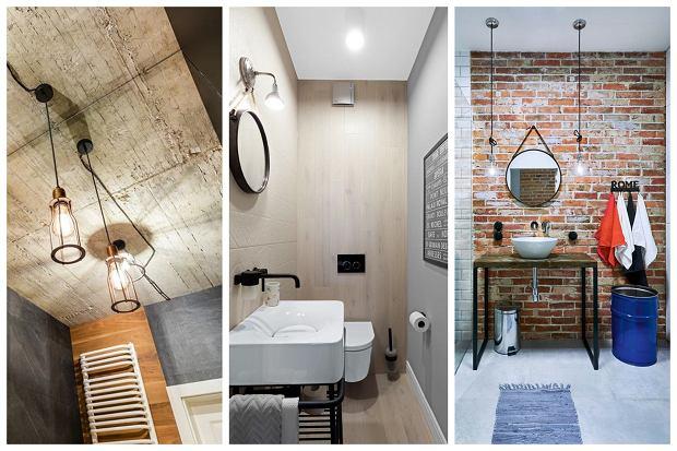 Przykłady aranżacji łazienek w stylu industrialnym