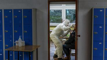 Testowanie bydgoskich nauczycieli na obecność koronawirusa