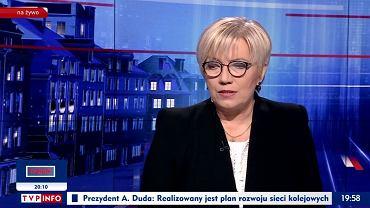 Julia Przyłębska w 'Gościu Wiadomości', 7.02.2020