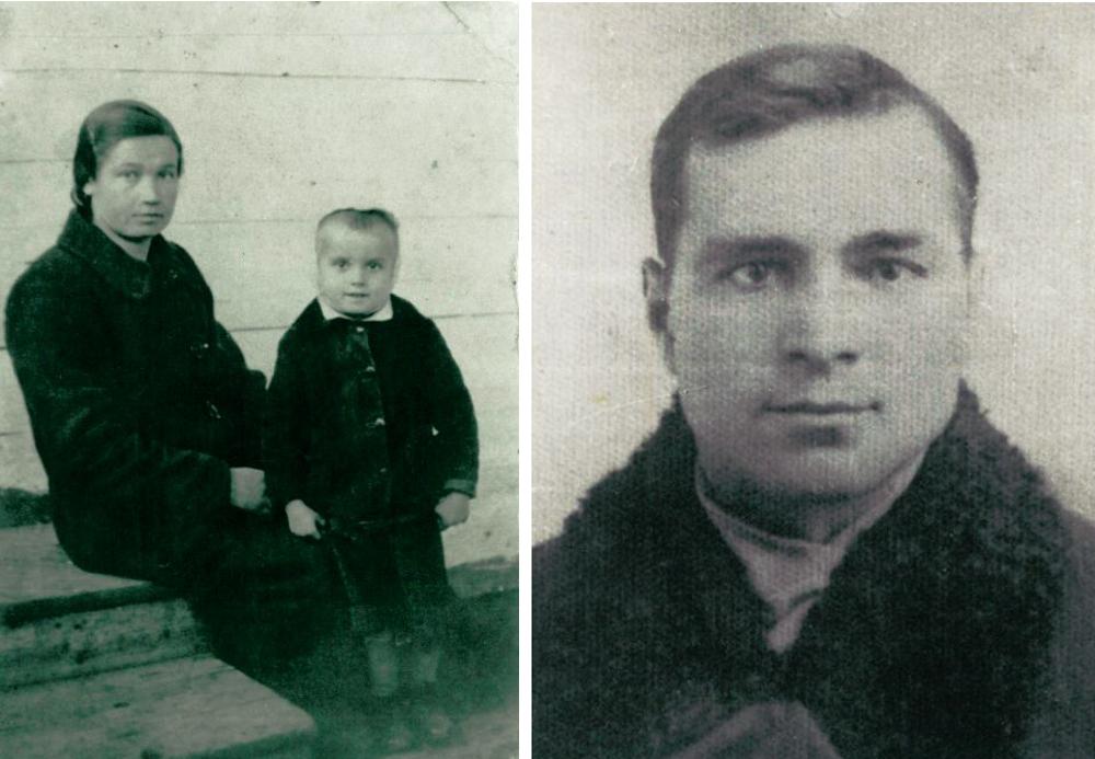 Po lewej: babcia Anny Janko, Józia. Jedyne zachowane zdjęcie, zrobione kilkanaście miesięcy przed śmiercią; po prawej: dziadek Anny Janko, Władek Ferenc (fot. archiwum autorki)  (fot. archiwum autorki).