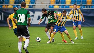 Michał Nalepa (podobnie jak w ostatnim meczu ligowym przeciwko Chojniczance) znowu zagra w środku pola