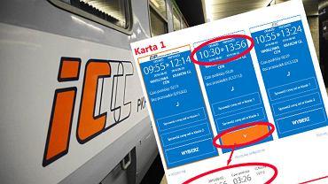 Poważny błąd w systemie PKP Intercity?